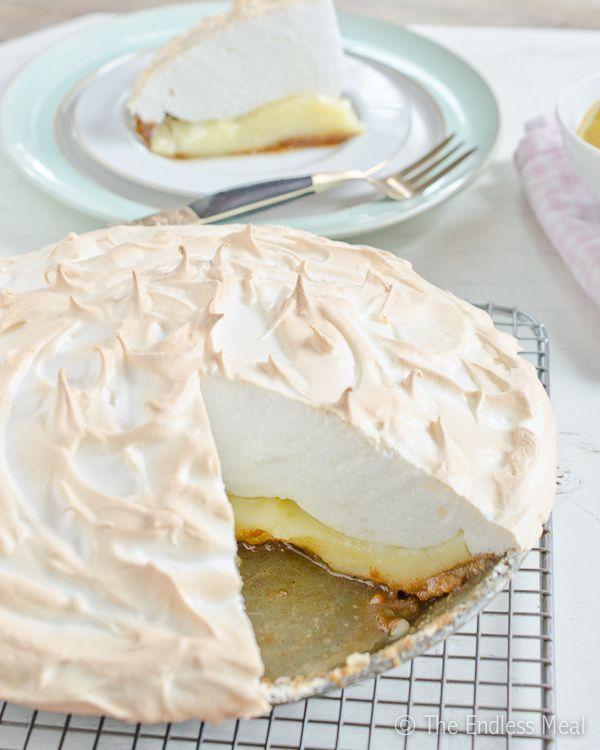 Easy Lemon Meringue Pie. | Hmmmmmm | Pinterest