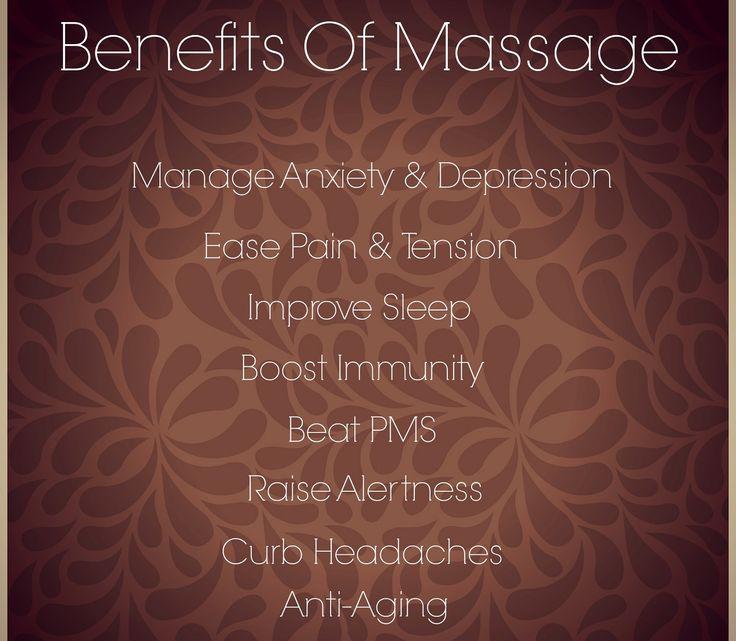 Massage benefits! Massage Quotes Pinterest