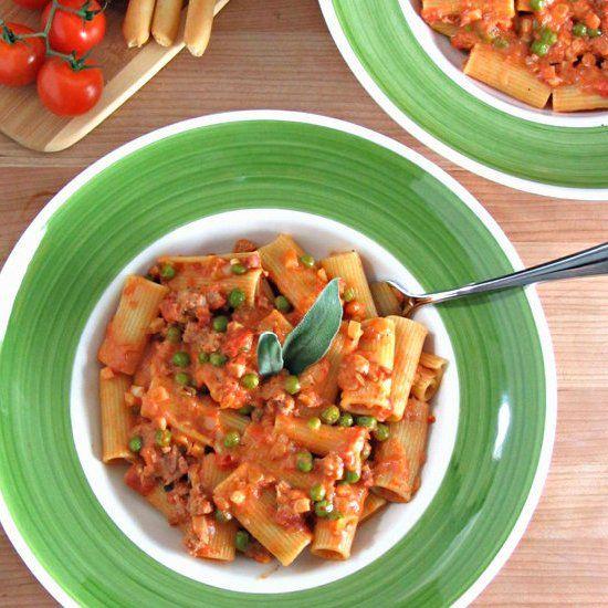 Sweet & Spicy Sausage Ragu Recipe — Dishmaps