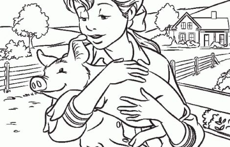 charlottes web coloring pages print - photo#19