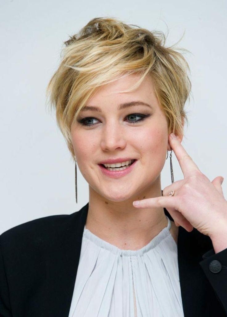 Jennifer Lawrence Short Haircut | Short haircuts for women | Pinterest