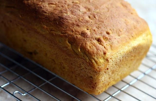 Pumpkin Oatmeal Bread   baked goods   Pinterest