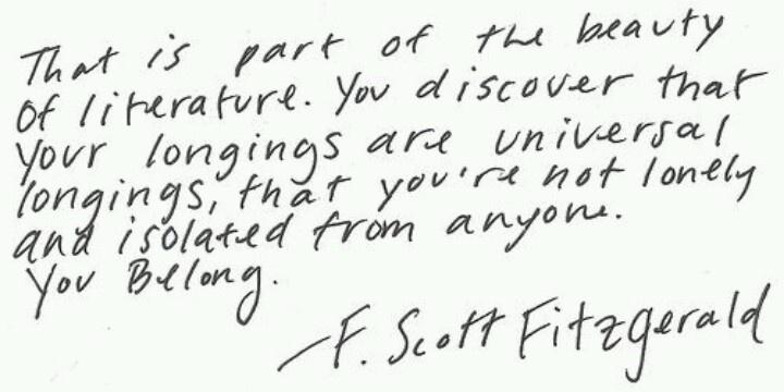 f. scott fitzgerald thesis statement