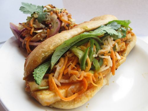 Bahn Mi salad...perfect for this time of year!