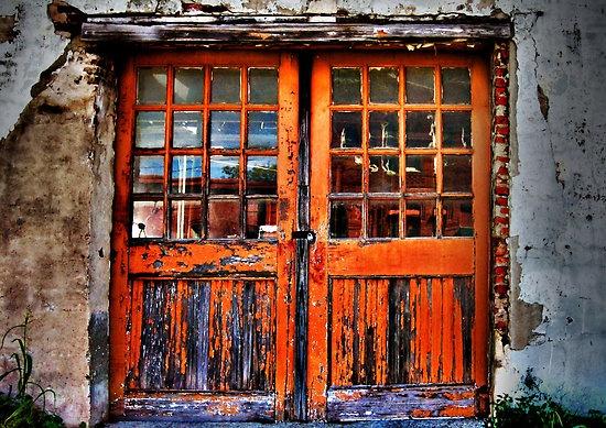 Burnt Orange Doors Do Come In Pinterest