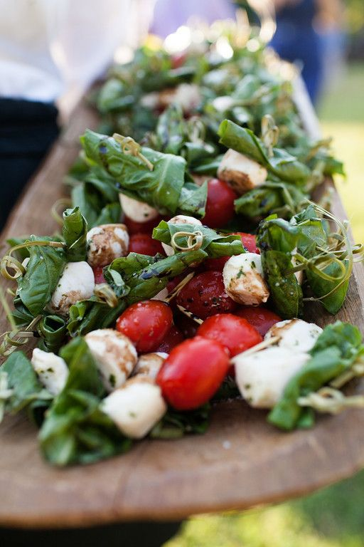 Caprese skewers | April 28, 2012! | Pinterest