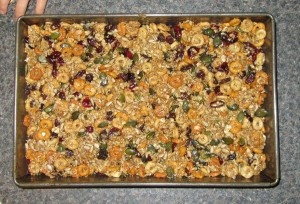 Fruit and seed bars recipe