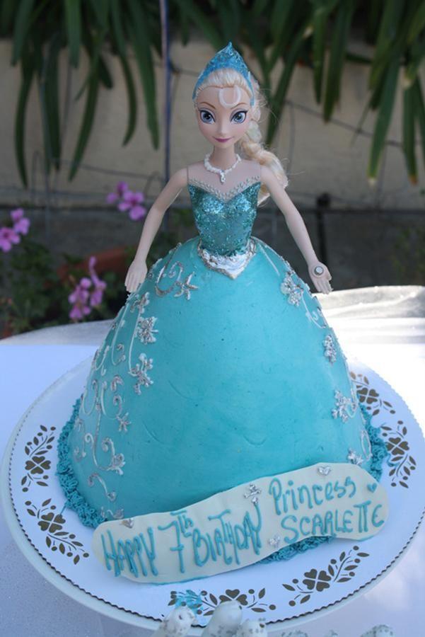 elsa cake  Cakes  Pinterest