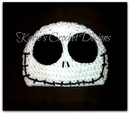 Crochet Jack Skellington Beanie – Dearest Debi Patterns