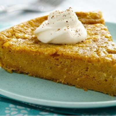 Impossibly Easy Pumpkin Pie | Food & Drink | Pinterest