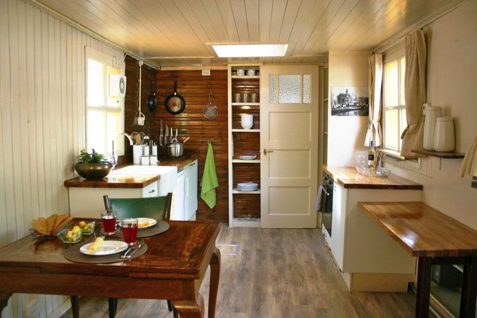 Interior Of Houseboat In Amsterdam Tiny Homes Retreats