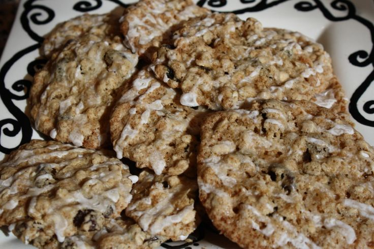 Iced maple applesauce oatmeal cookies | Healthier and Tastier | Pinte ...