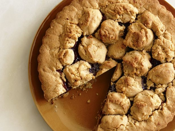 Strawberry-Peanut Butter Tart Recipe : Food Network Kitchens : Food ...