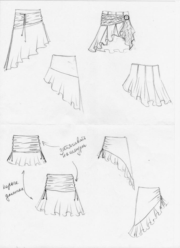 Шьем платье своими руками для танцев 44