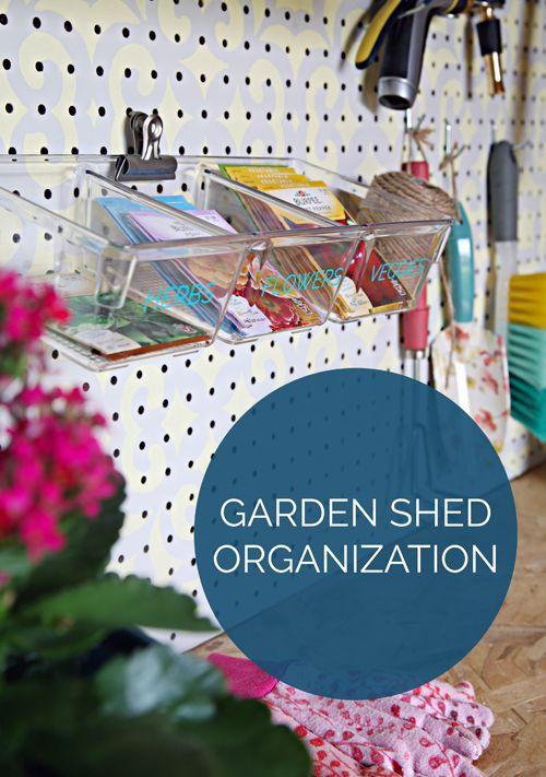An Organized Garden Shed