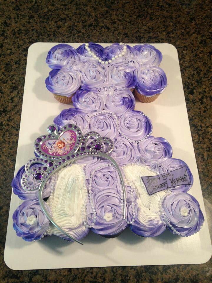 Princess Cupcake Cake Images : Princess cupcake cake Cupcake Fun! Pinterest