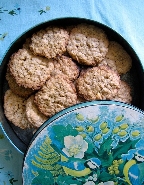 Oatmeal White Chocolate Cookies | C is for Cookie | Pinterest