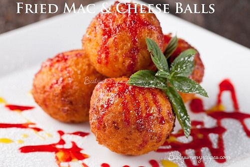 Fried Mac & Cheese Balls   Recipes   Pinterest