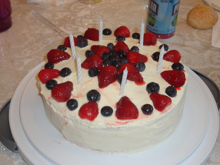 Perfect Party Cake by Dorie Greenspan White Butter-cream Cake with ...