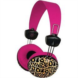Macbeth Large Leopard Print Headphones | derp | Pinterest: pinterest.com/pin/19421842115155603
