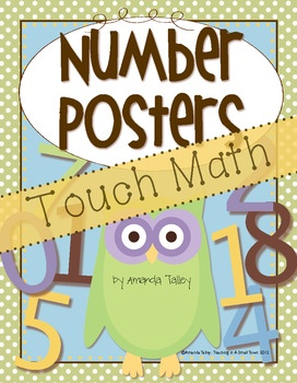 owl theme touch math number posters   # Pinterest++ for iPad #