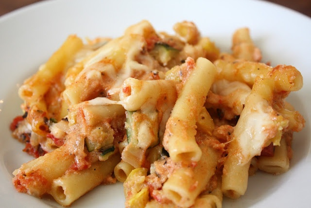 Baked Ziti with Summer Vegetables | Recipes to Try | Pinterest