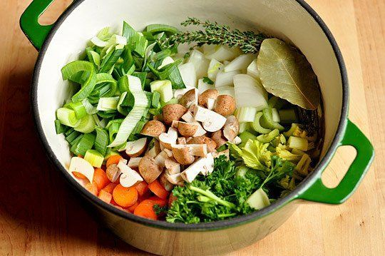 How to make Vegetable Stock. | Great Food and Drinks | Pinterest