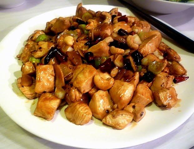 Gung bao chicken http://www.fuchsiadunlop.com/cooking/