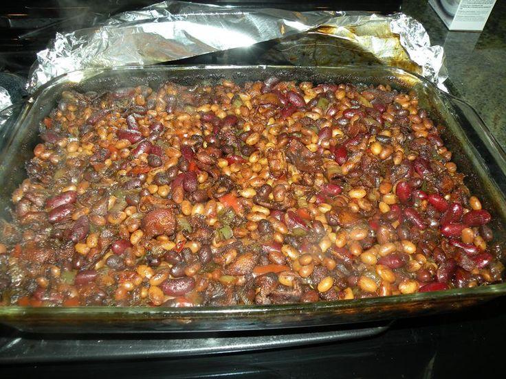 Root beer baked beans | Recipes I'd make again | Pinterest