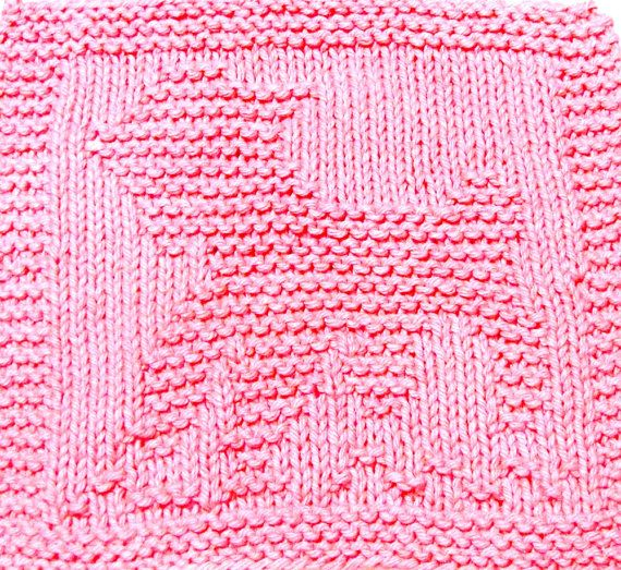 Knitting Patterns For Baby Washcloths : Pin by EasyCare BabyKnits on Baby Washcloth Knitting Patterns Pinte?