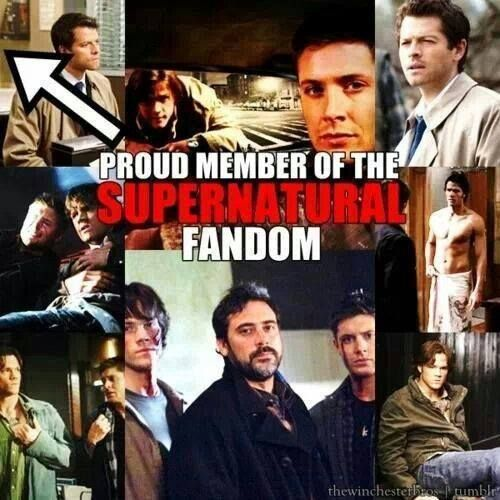SPN loud and proud!!!