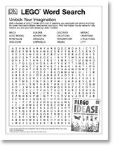 LEGO Word Search. Repinned by Apples and Apps.