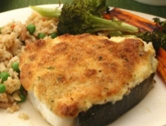 for making some delicious Parmesan Crusted Halibut. The Parmesan ...