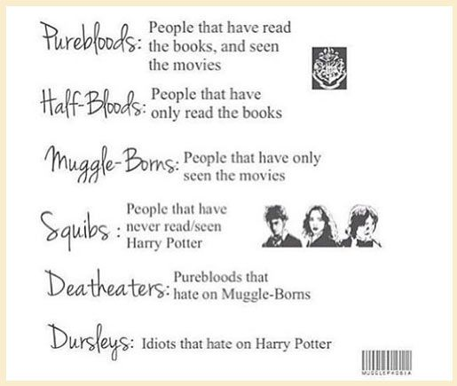 I'm pureblood and hate Dursleys.