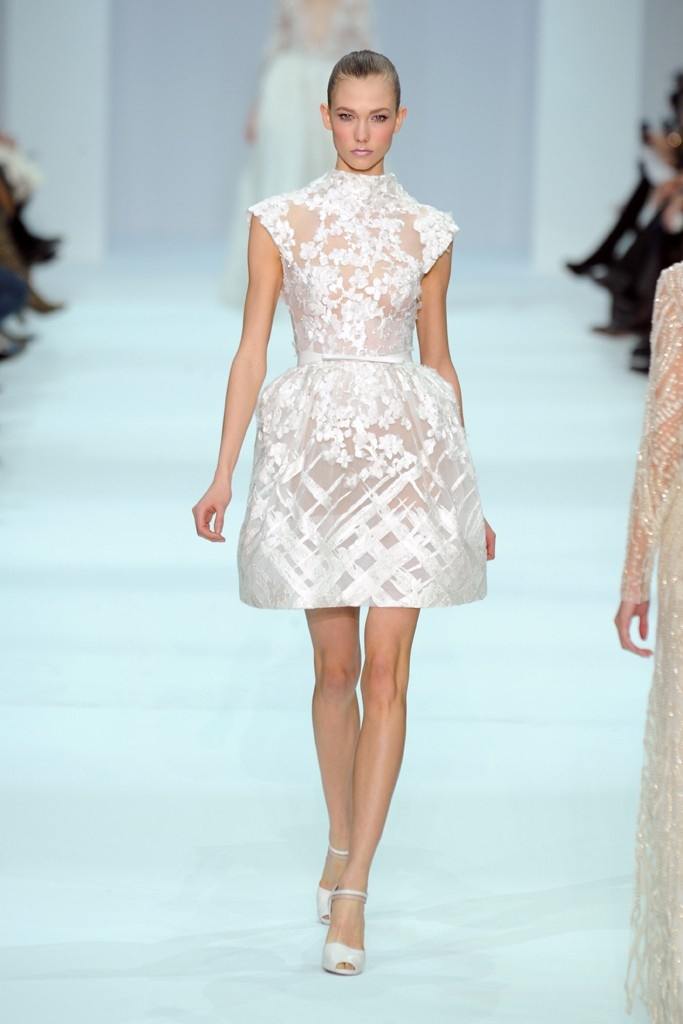Second dress option, yes please. From Elie Saab Spring Couture 2012 collection.