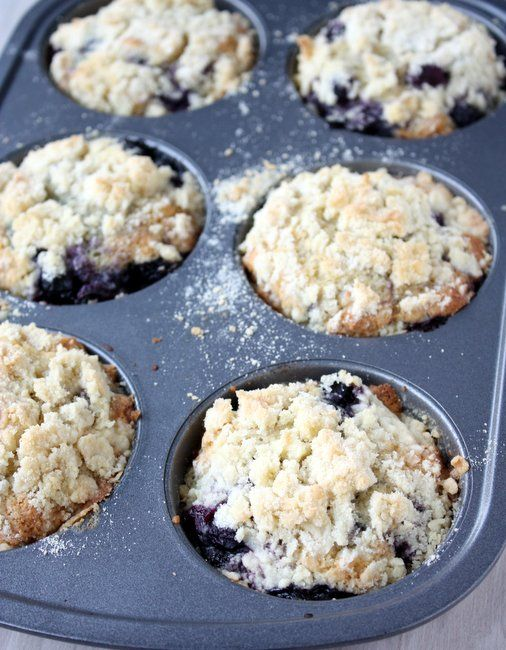 brown butter blueberry muffins | yummyy! | Pinterest