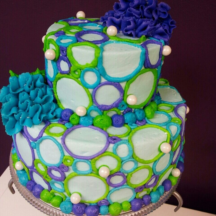 Bubbly Cake | Cakes - Tier | Pinterest