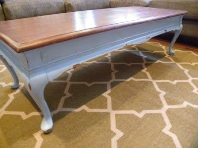Refinishing Coffee Table Furniture Diy And Makeover Pinterest