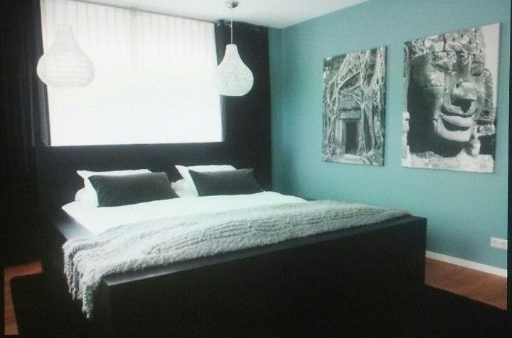 tiffany blue and black master bedroom for the home pinterest