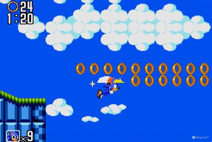 Sonic the hedgehog 2 1992 game gear sonic pinterest