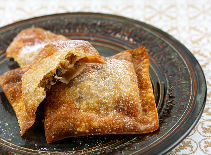 Apple Crisp Wontons - The Perfect Pantry (Thanksgiving Munchies ...