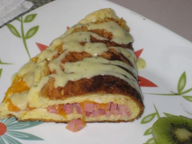 Souffle Omelet (Puffy Omelet) | Recipe