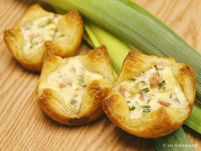 Leek and Ham Tarts | Stuff I've Done! | Pinterest