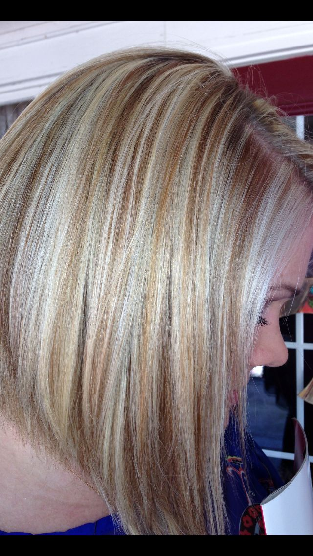 ... strawberry lowlights and blonde highlights! | {hair} | Pinterest