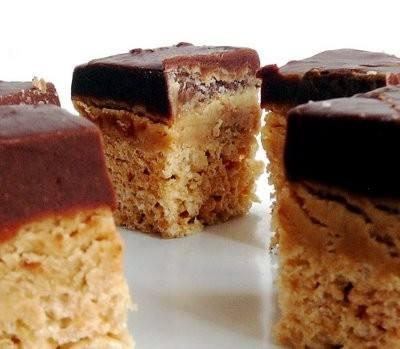 peanut butter fudge krispies treats | Food Ideas | Pinterest
