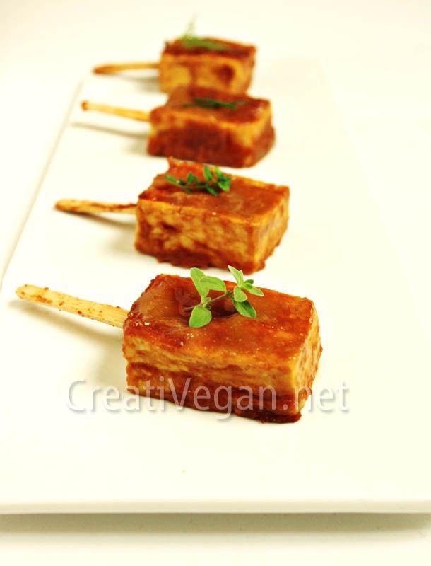 Tofu Dengaku | Appetizers; Vegan | Pinterest