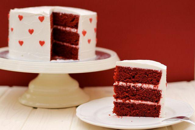 Red Velvet layer cake. | holidays | Pinterest