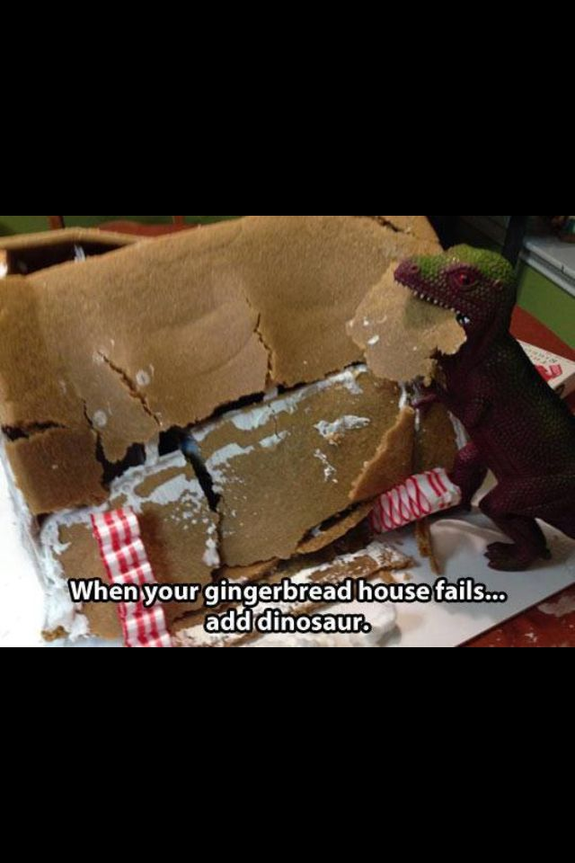 How to save your gingerbread house   Funny stuff, well, funny to me a ...