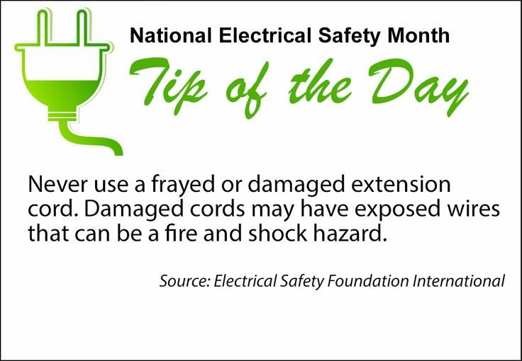 Frayed Extension Cord : Pin by chickasaw electric cooperative on national