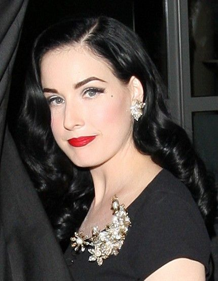 more like this dita von teese wedding ring and manicures